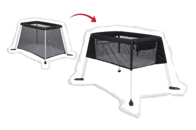 get the most from your traveller™ cot!