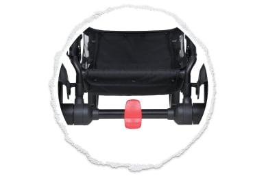 easy access foot park brake