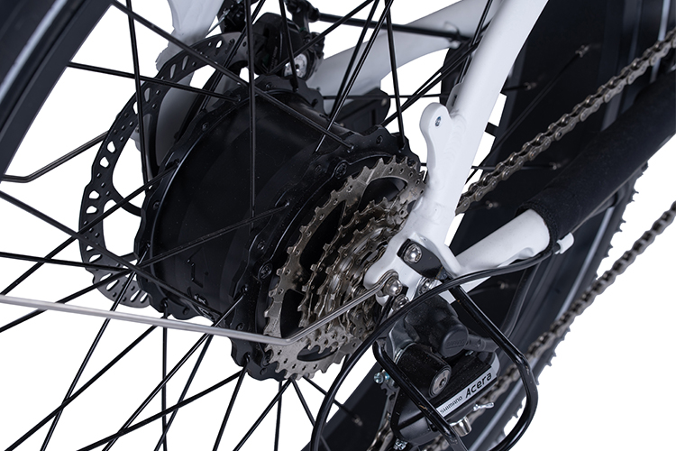 RadRover Step-Thru Electric Fat Bike Version 1 key feature 5