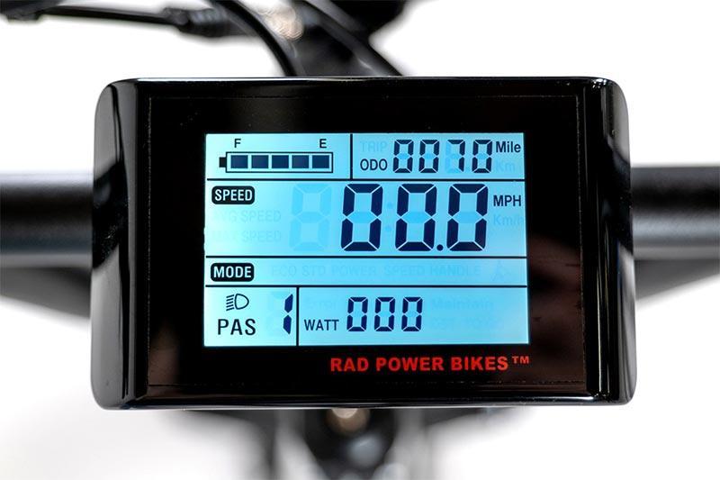 Rad Power Bikes LCD display