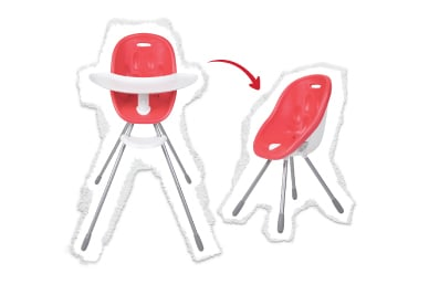 high chair to my chair!