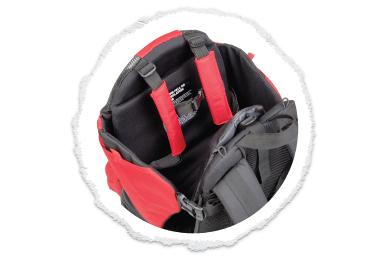 secure & adjustable kid harness