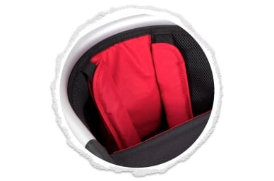 ergonomic seating with comfy padded shoulders pads