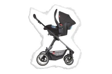 compatible con silla de auto