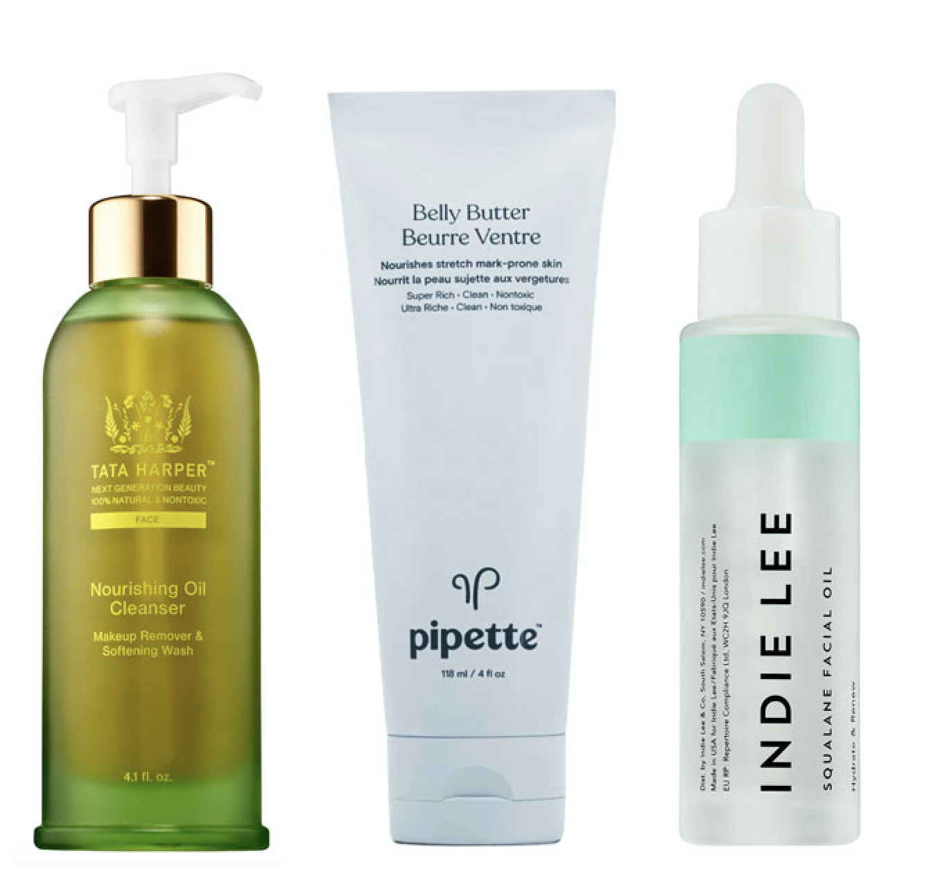 """""""...100-percent pure olive-derived squalane for a soft, nongreasy glow""""- NewBeauty"""
