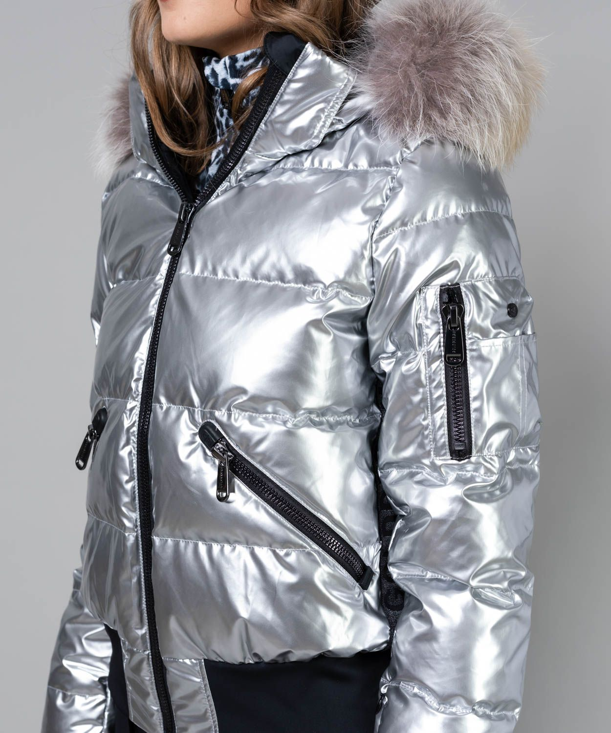 Women's Aura Fur Ski Jacket Sale