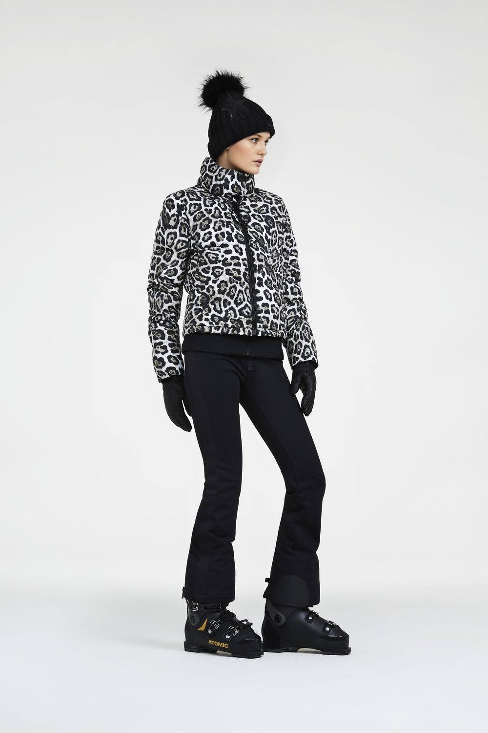 Women's Sunna Snow Leopard Print Ski Jacket Sale