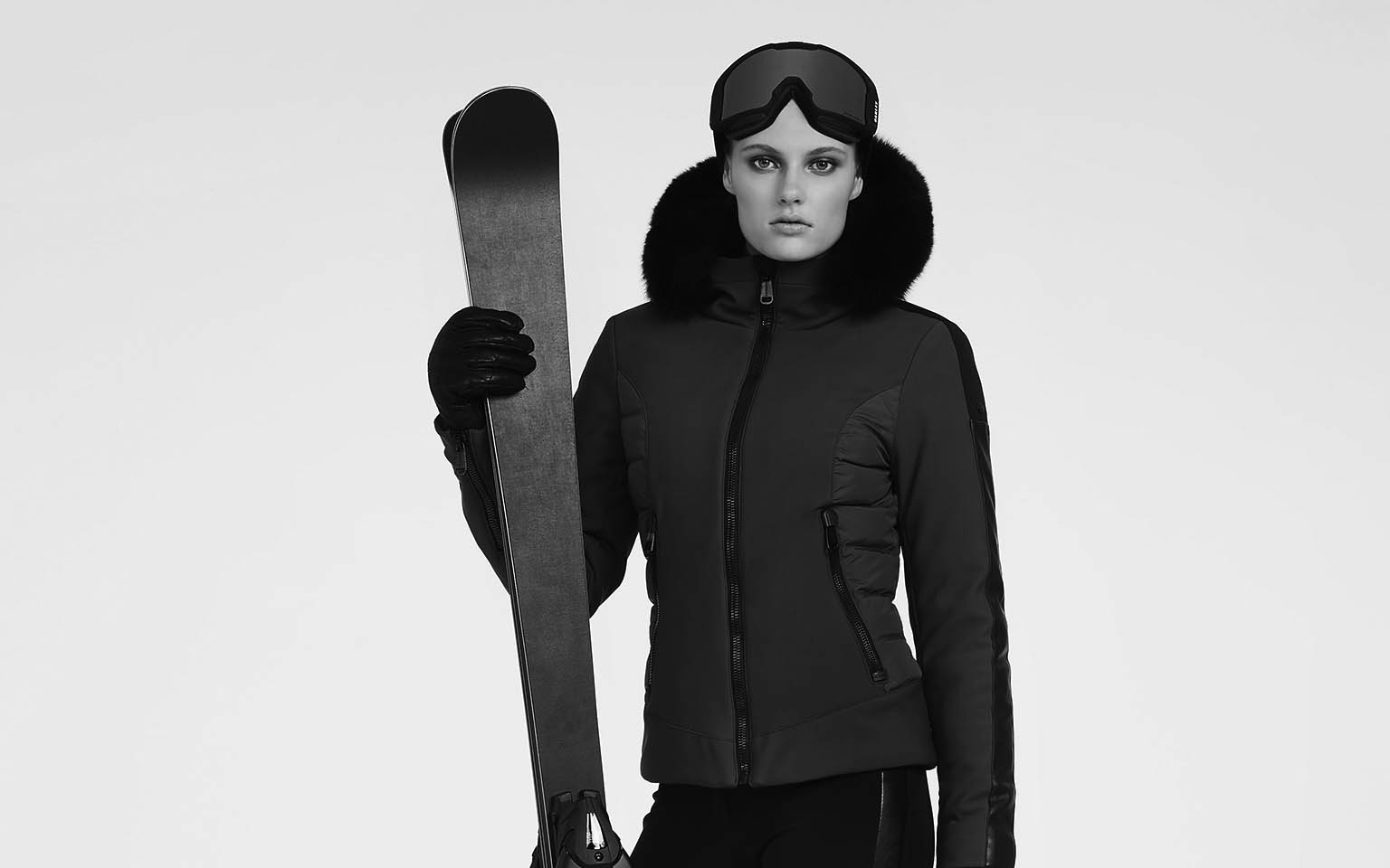 Women's Kaja Fur Ski Jacket Sale