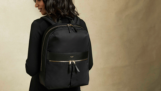 "KNOMO Beauchamp Laptop Backpack - 14"" Lifestyle Image 