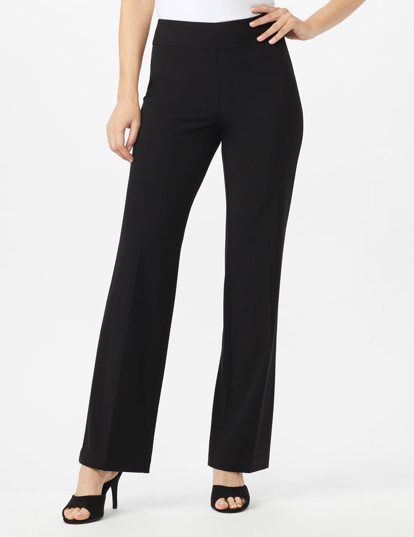 Secret Agent Tummy Control Pants - Average Length -Black - Front