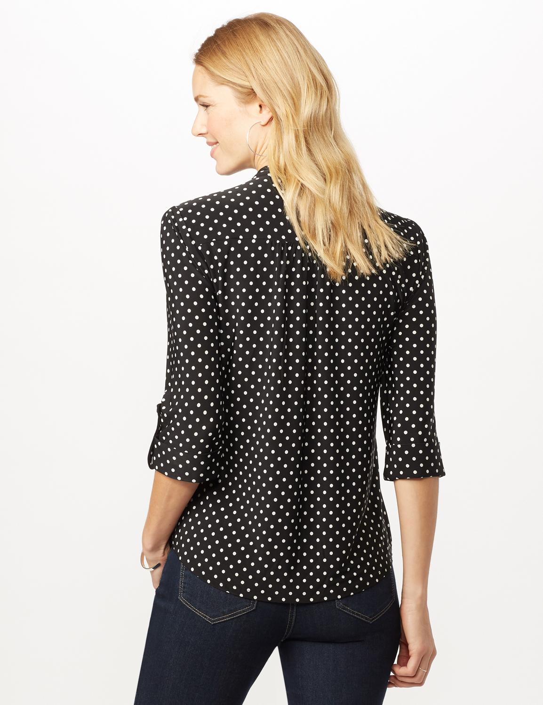 Dotted Popover -Black/white - Back