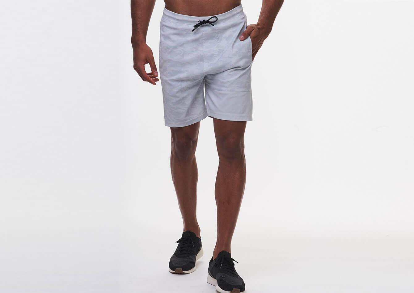 Edge 2-in-1 Short - tasc performance shorts - (NauticalBlueTechDot)