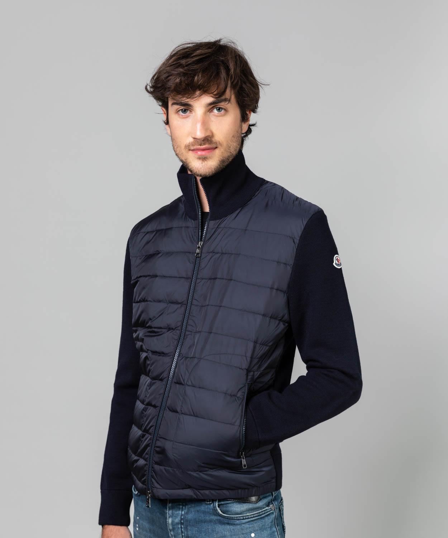 Men's Wool Knit Down Hybrid Jacket