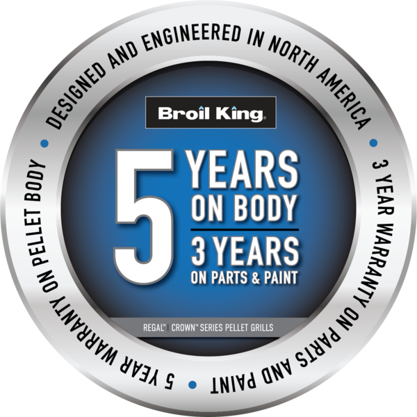 Broil King 5 Year Limited Warranty