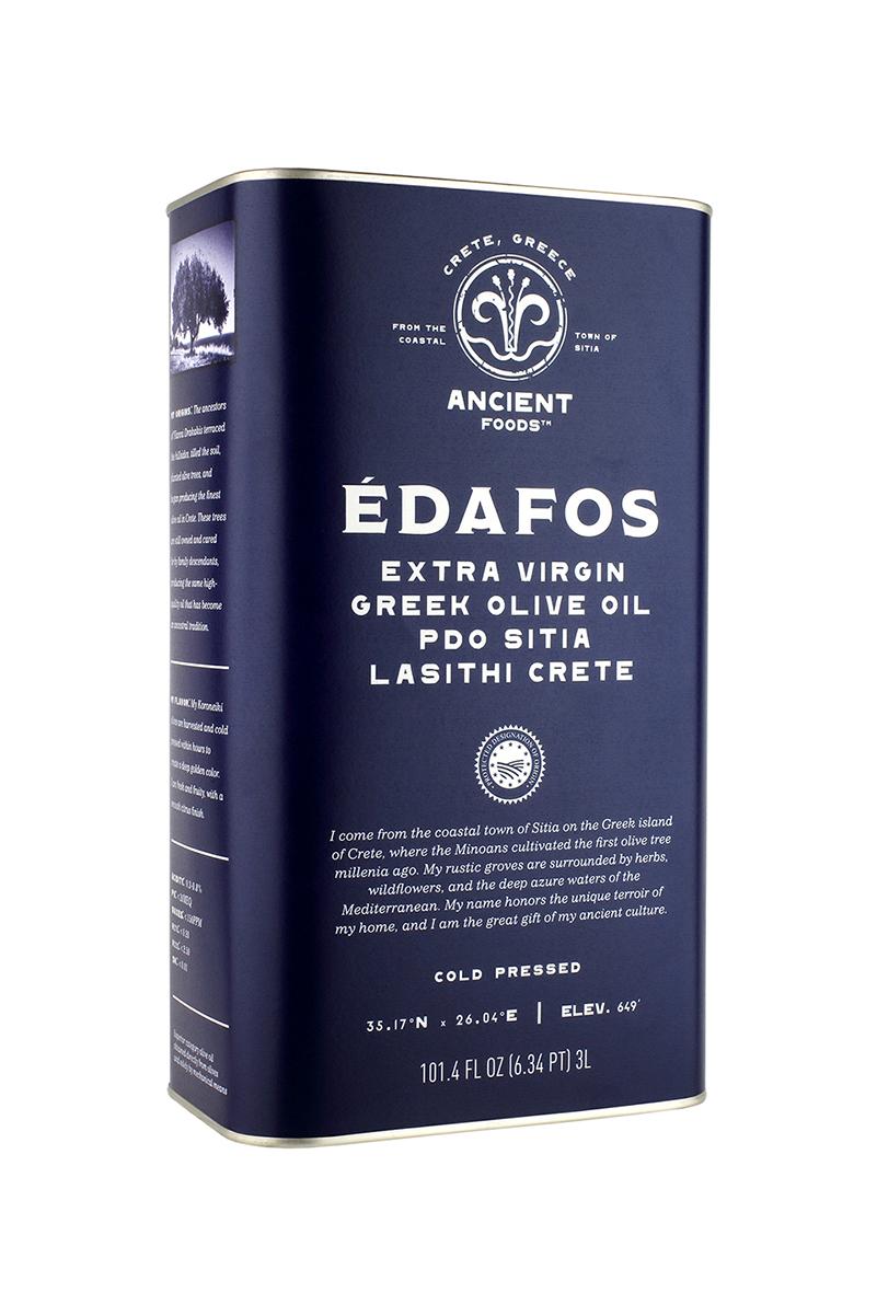 Édafos Extra Virgin Organic Olive Oil