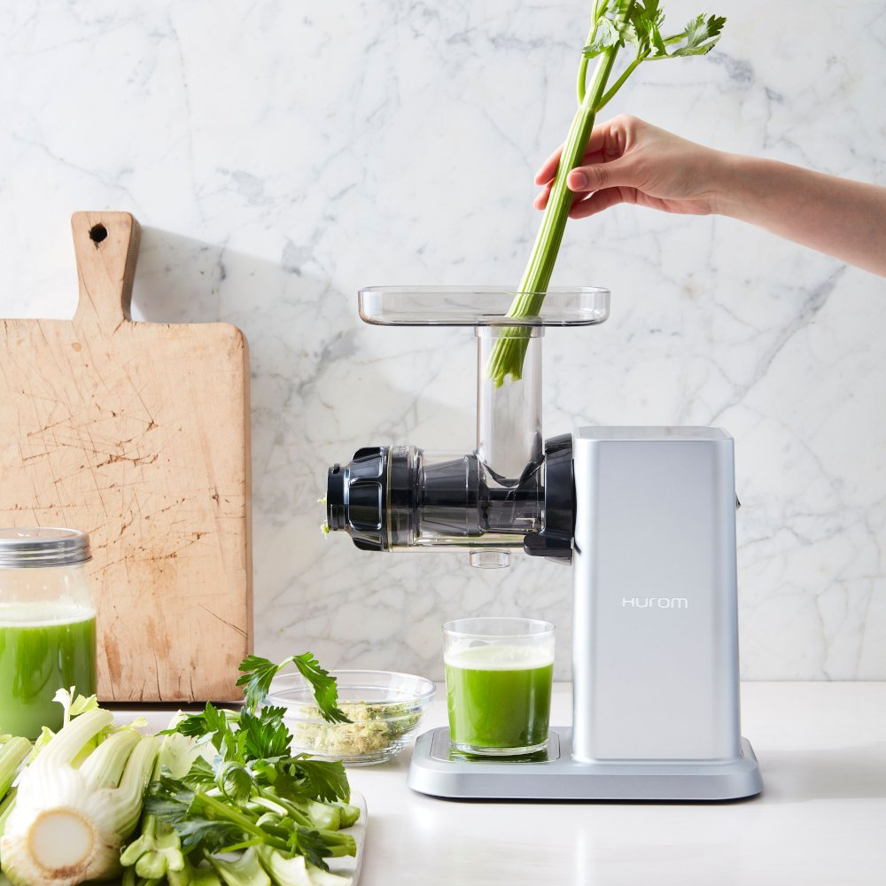 Celery & Greens Horizontal Slow Juicer
