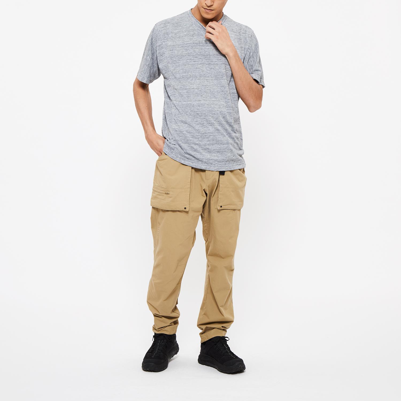 "Model: Height 6'0"" | Wearing: SAND BEIGE / MCoordinate with: CORDURA® MOUNT CARGO CHINO PANTS"