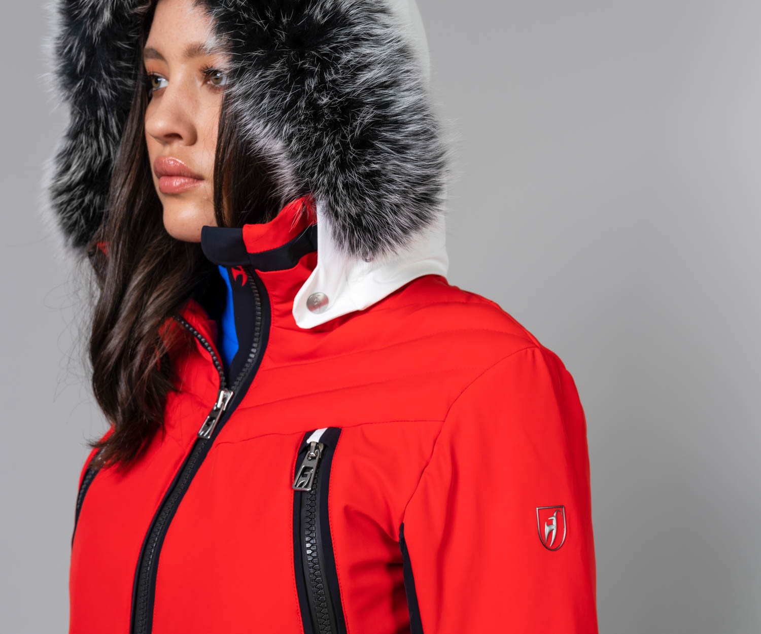 Women's Cosima Fur Ski Jacket Sale