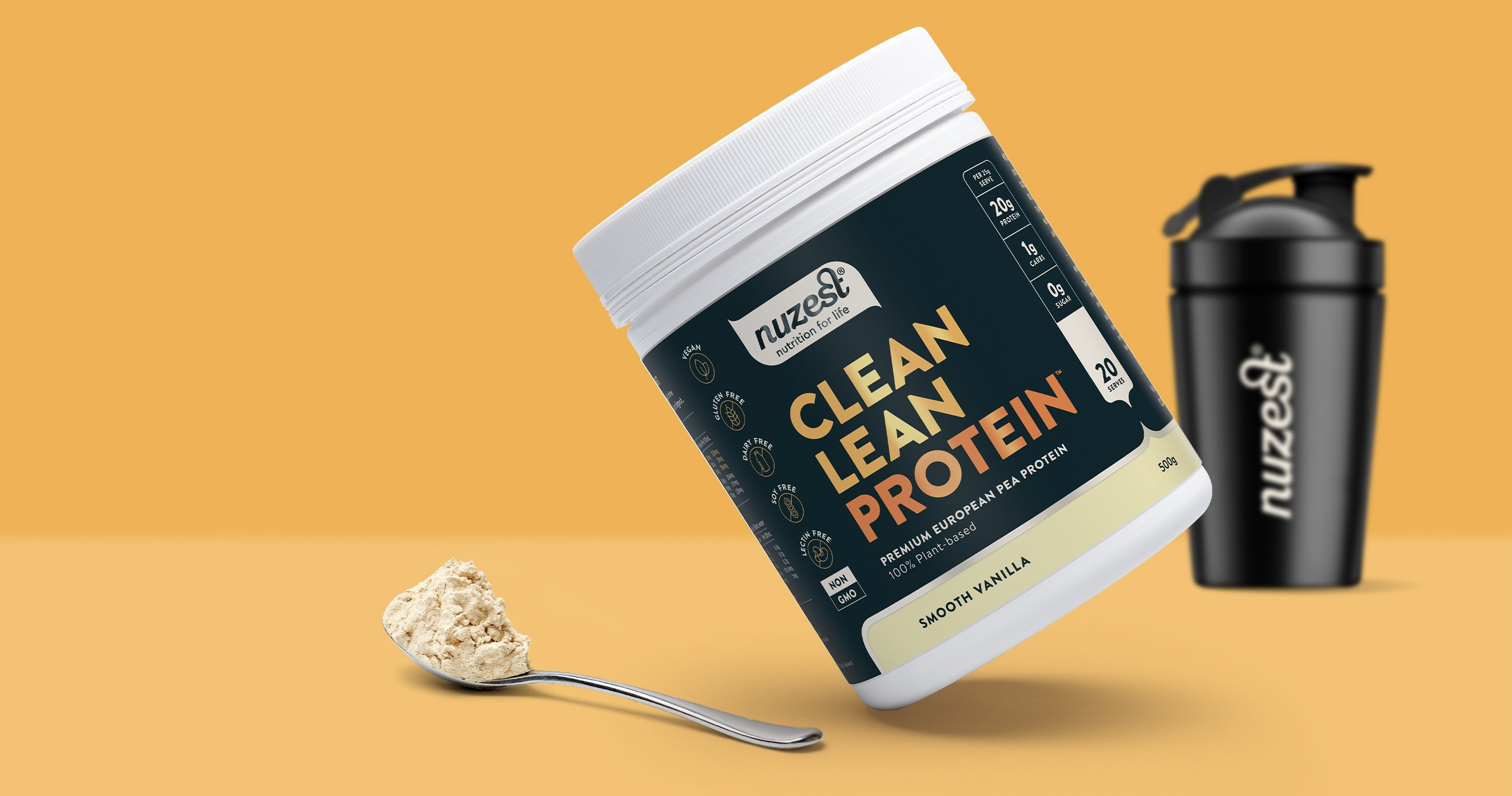 Clean Lean Protein Sachets Box