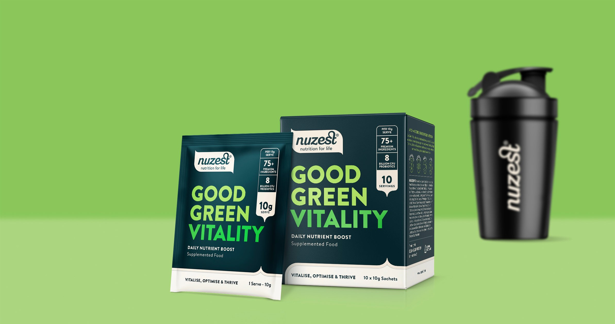 Good Green Vitality Sachets