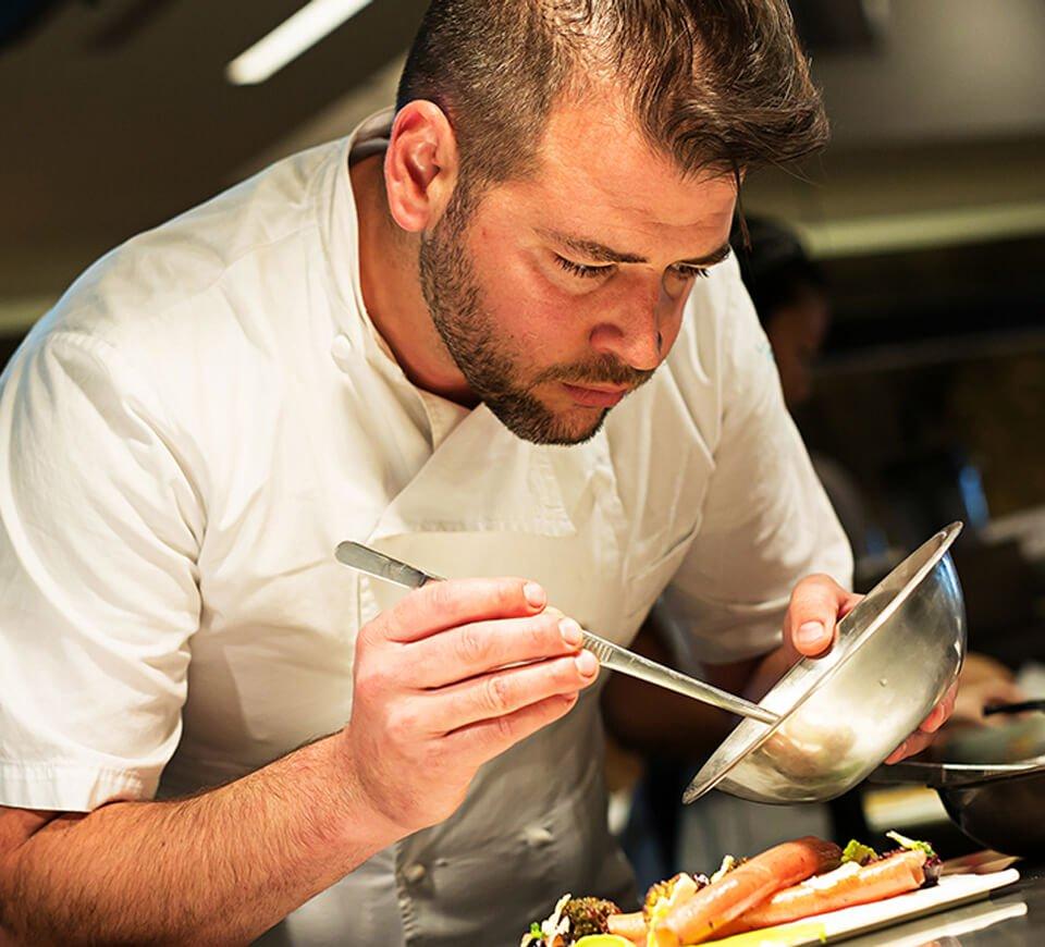 Chef Nicholas Stefanelli