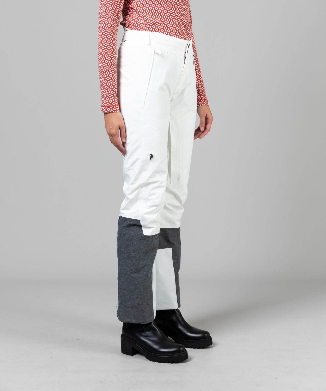 Women's Velaero White Insulated Ski Pants Sale