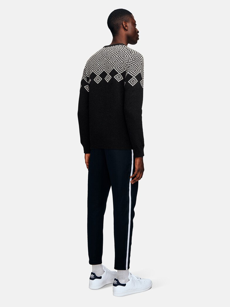 Men's Vernis Jaquard Crew Knit Sale