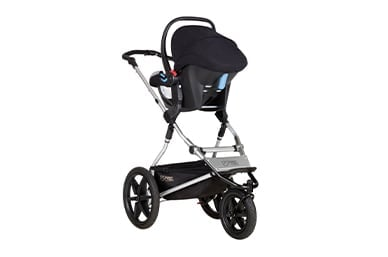an all terrain, active travel system for your newborn