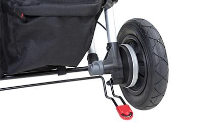 foot park brake for go / stop