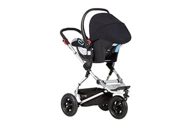 a light, all terrain travel system for your newborn