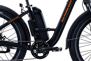 RadRover Step-Thru Electric Fat Bike Version 1key feature 8
