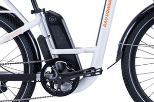 RadCity Step-Thru Electric Commuter Bike Version 3key feature 5