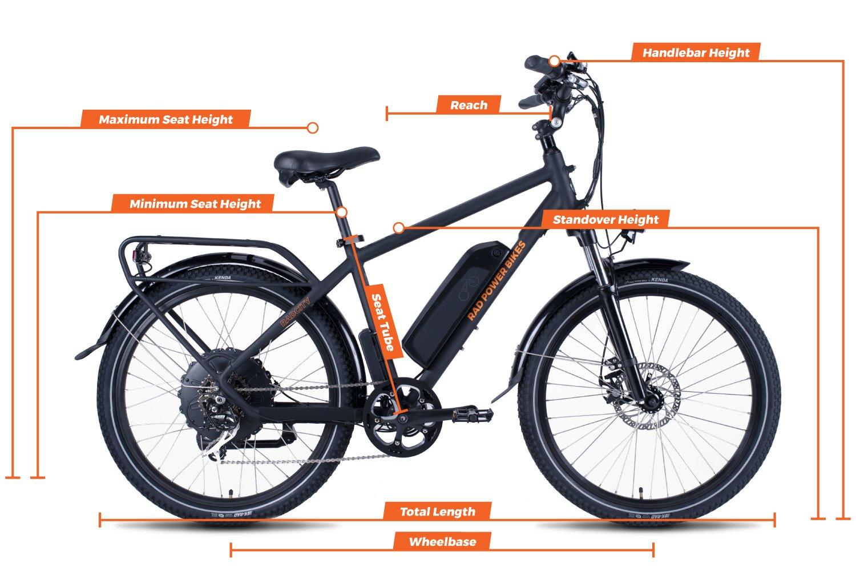 Bicycle Seat Tube Gauge Measuring Size Tool Bike Seat Measurement Accessory