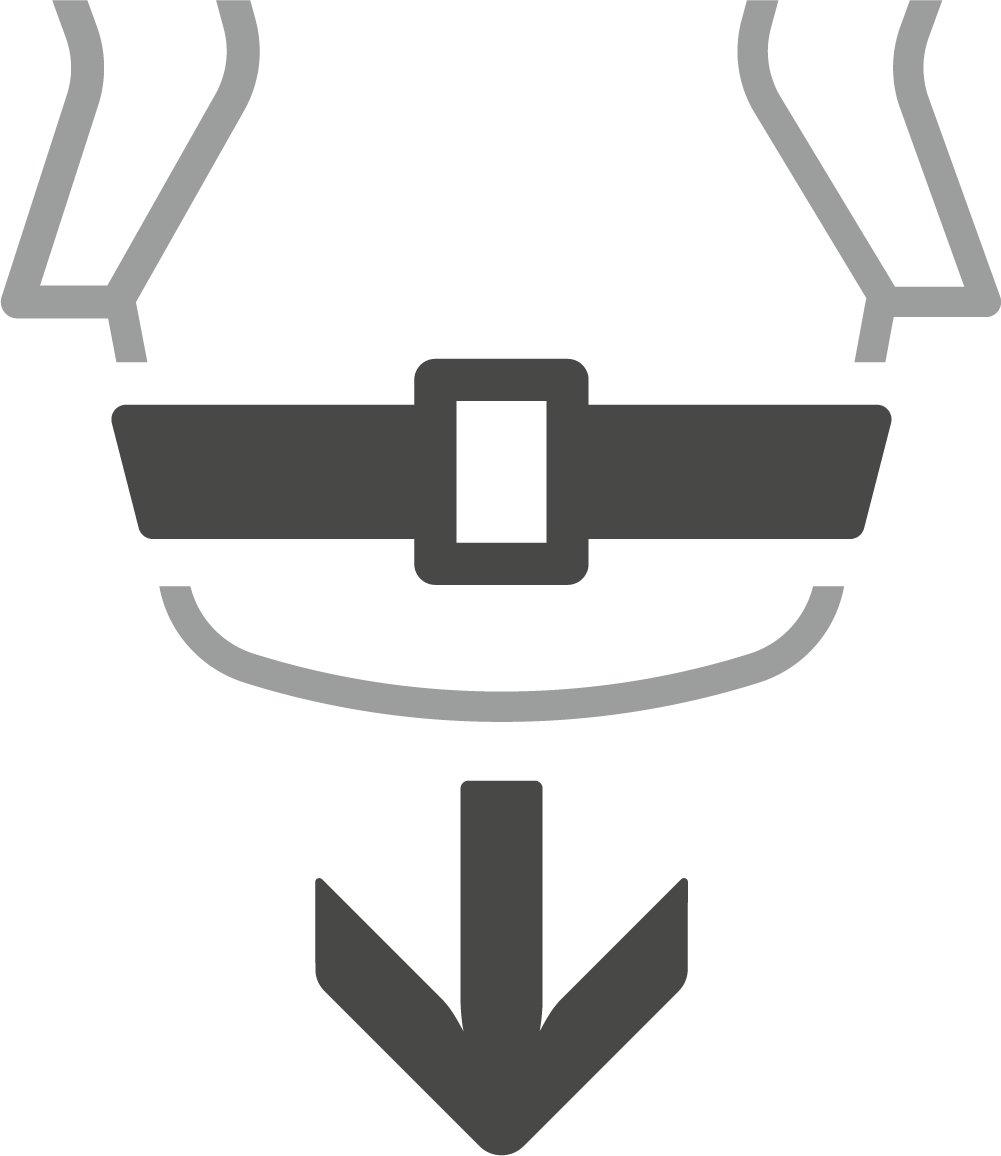 Detachable Waist Belt-Deuter