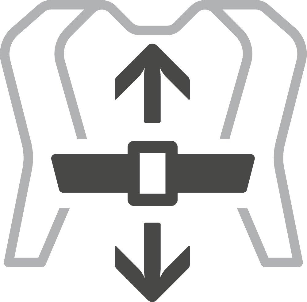 Adjustable, Removable Sternum Strap-Deuter