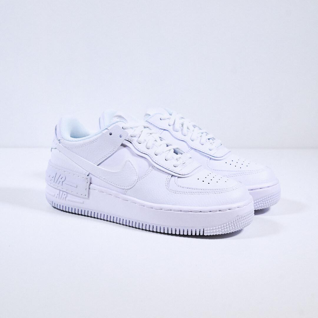 Nike Air Force 1 Shadow Triple White - CI0919-100