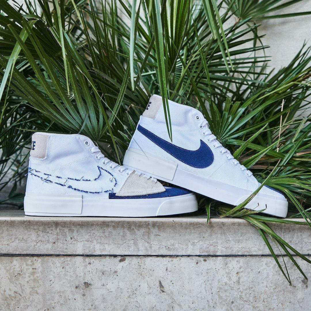 Nike Blazer SB Mid Edge Hack Pack White