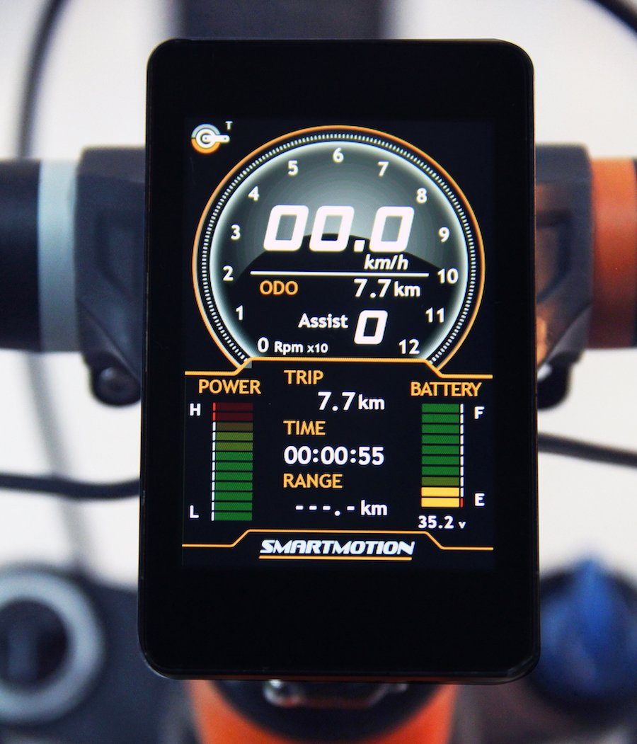 SmartMotion Hypersonic Large e-Bike