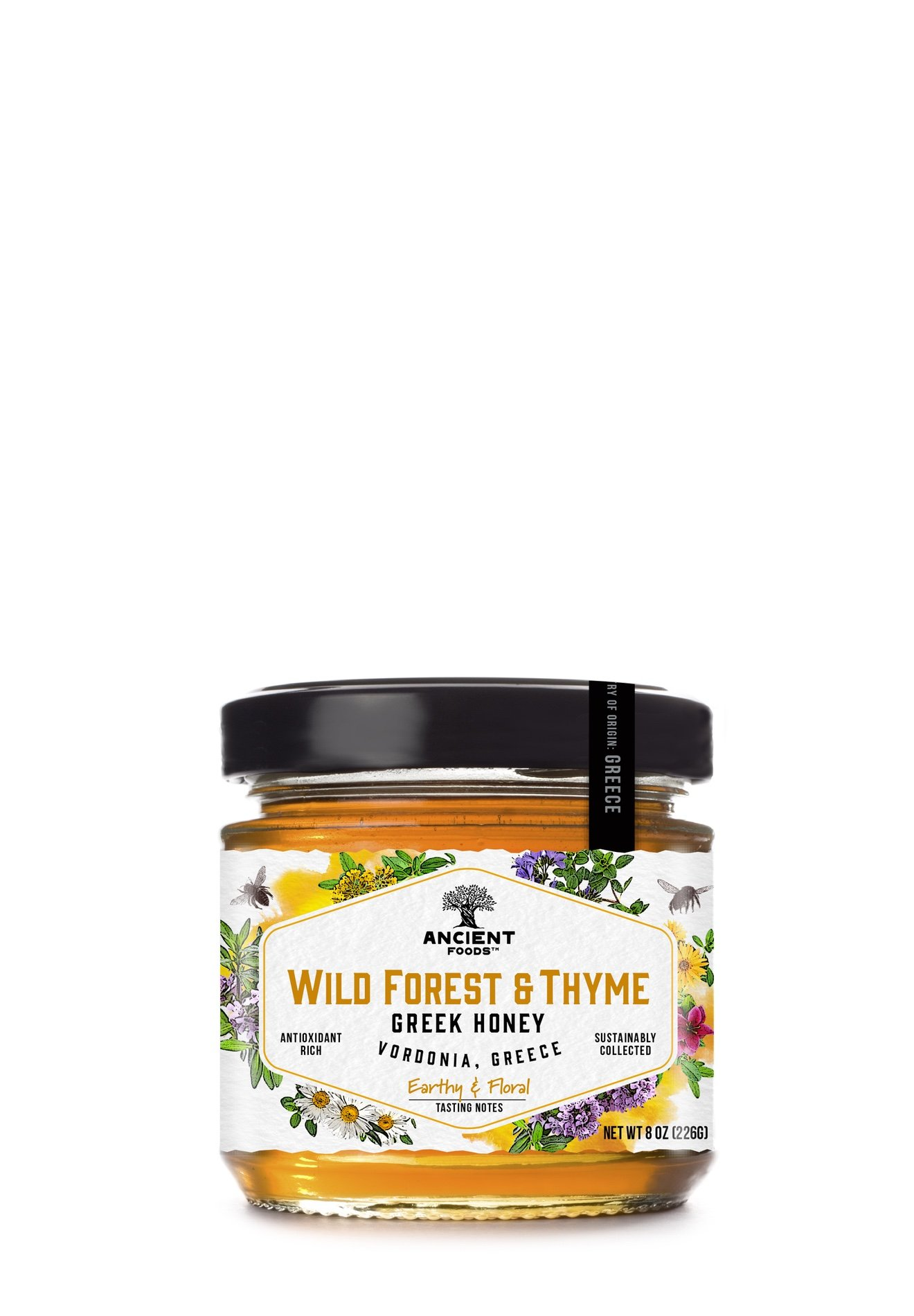 Jar of Wild Forest and Thyme Honey