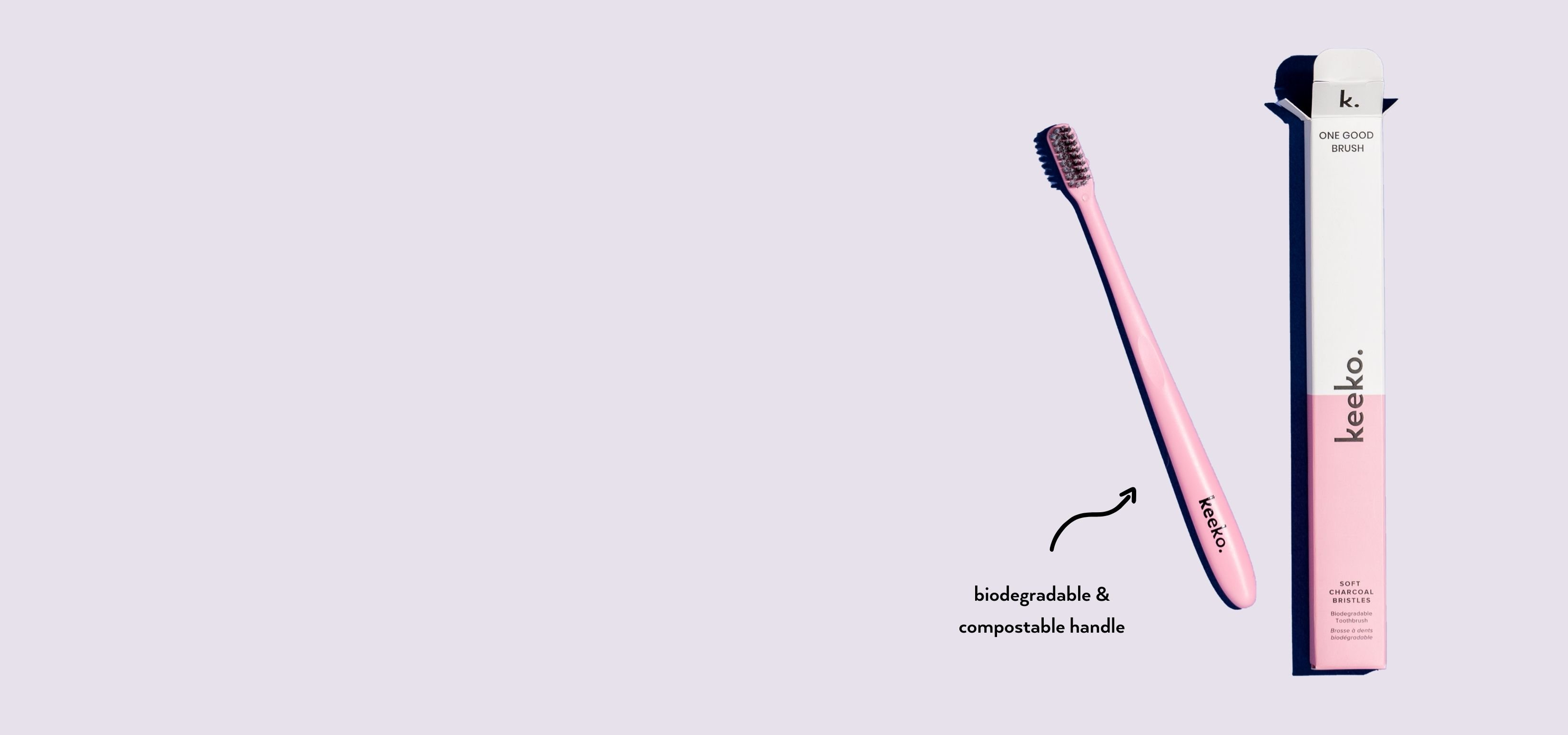 One Good Brush - Biodegradable Toothbrush