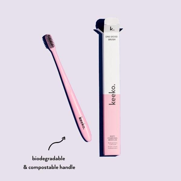 One Good Brush - Biodegradable Toothbrush