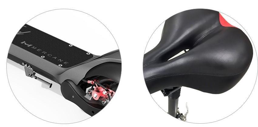 Mercane Wide Wheel Pro eScooter Seat Kit
