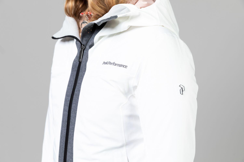 Women's Velaero Core White Ski Jacket Sale