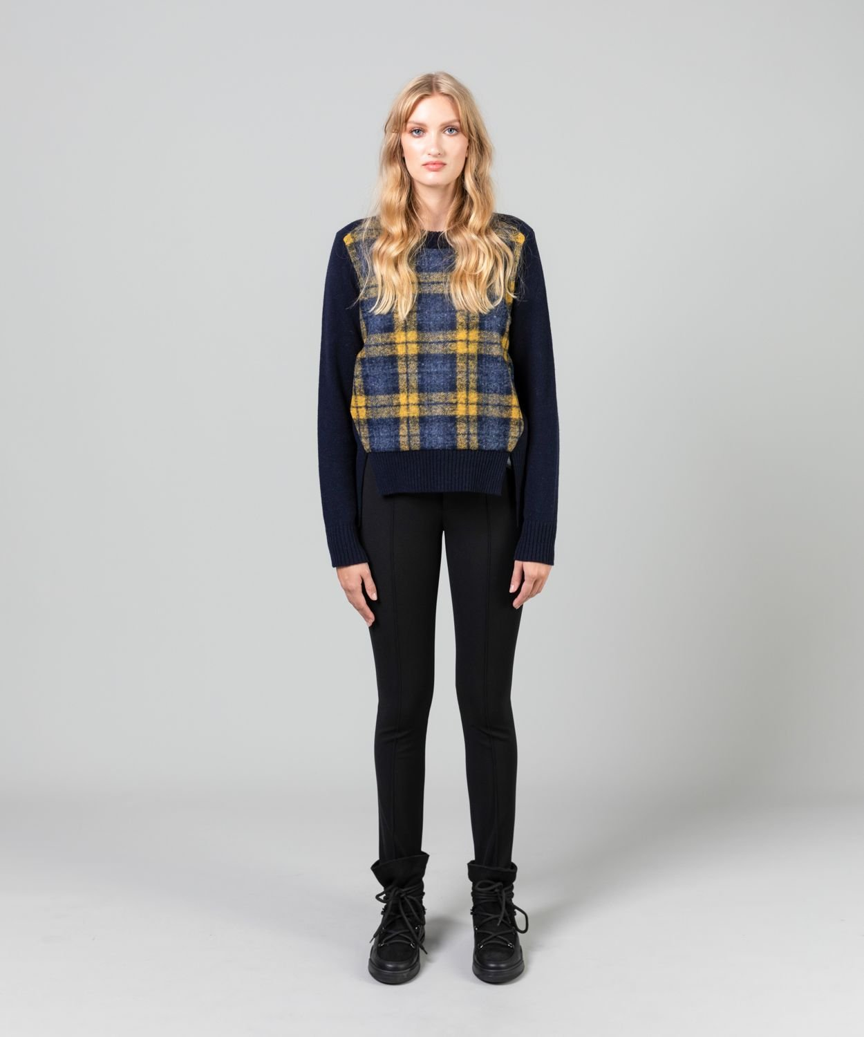Women's Checked Windblocker Crew Sale