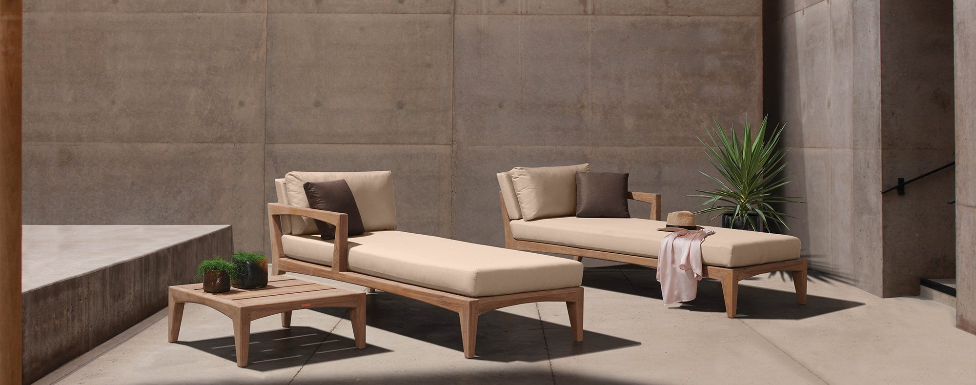 Zenhit luxury outdoor daybed set