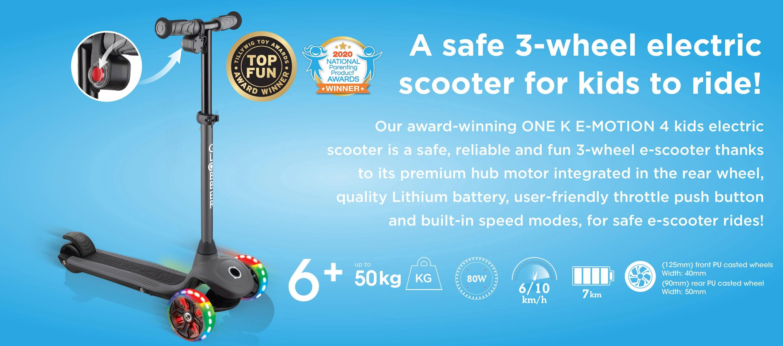 Globber ONE K E-Motion 4 Kids e-Scooter