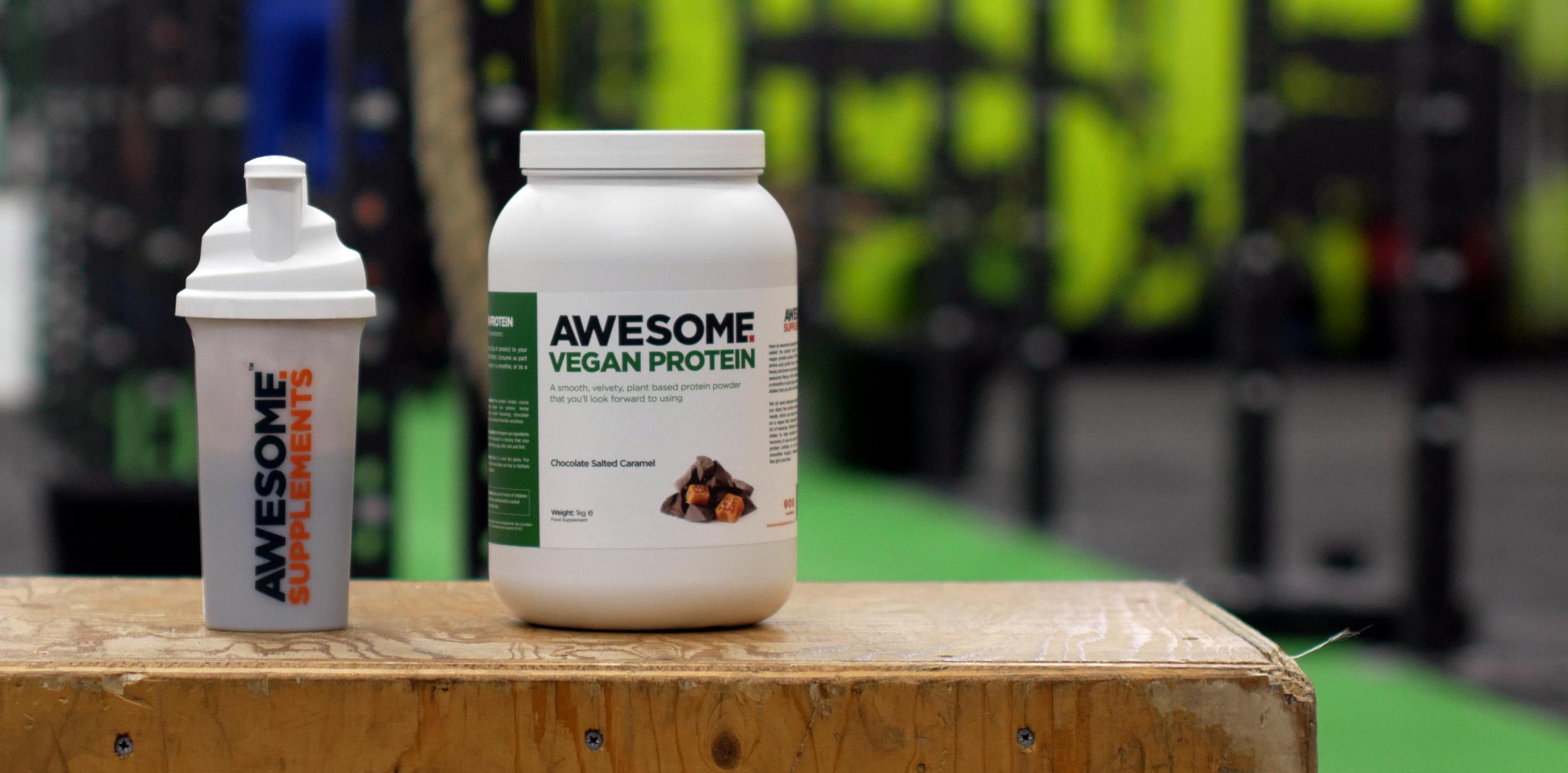 Awesome Vegan Protein - Sample hero banner