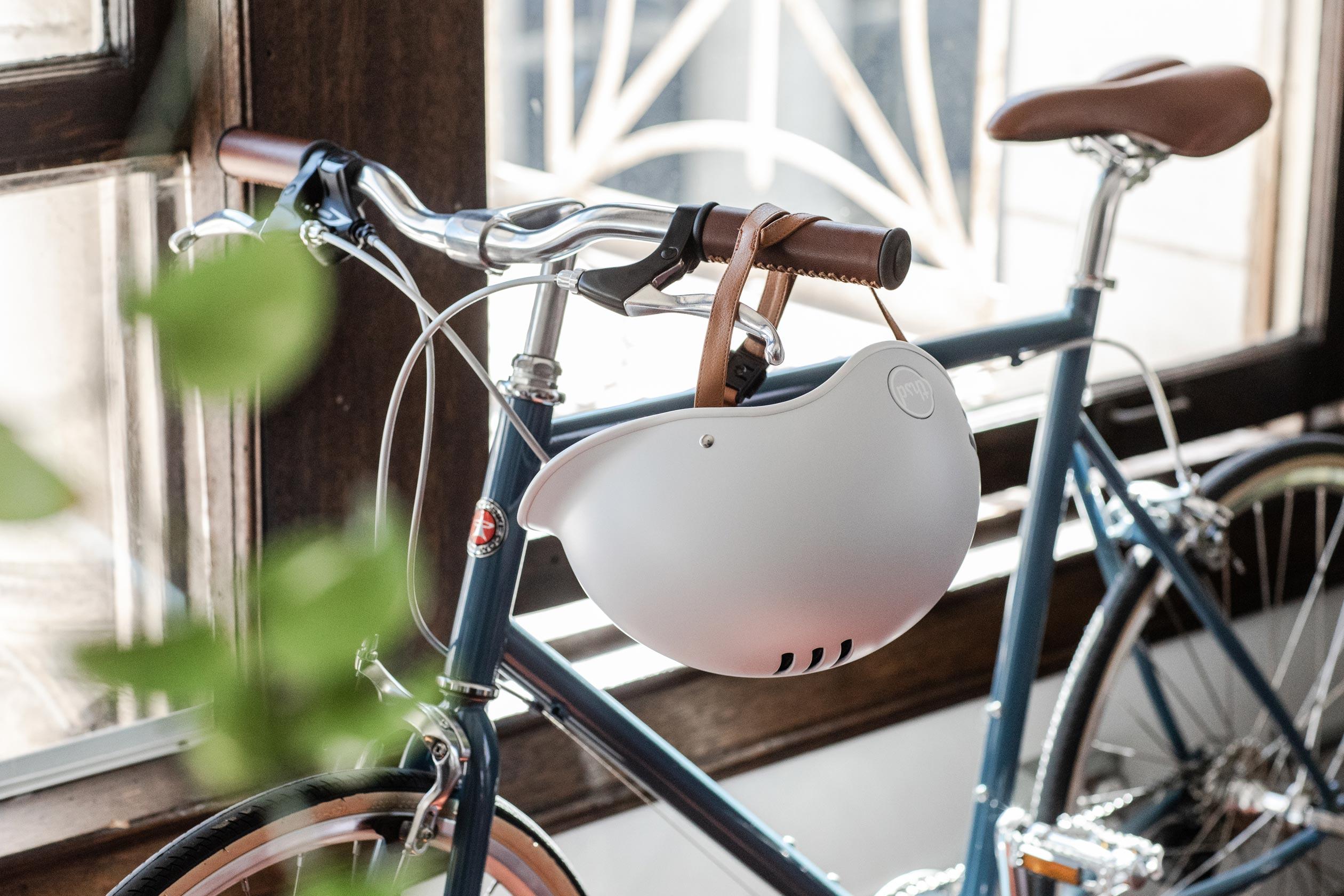 Heritage Bike Helmet, Arctic Gray