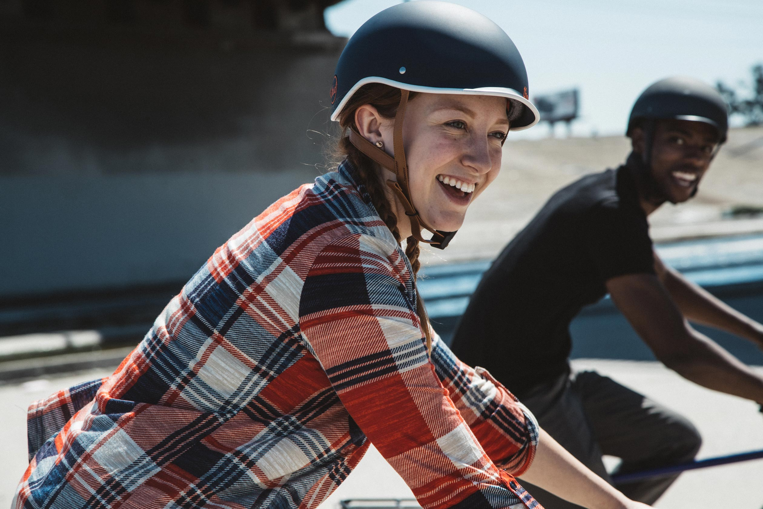 Heritage Bike Helmet, thousand Navy