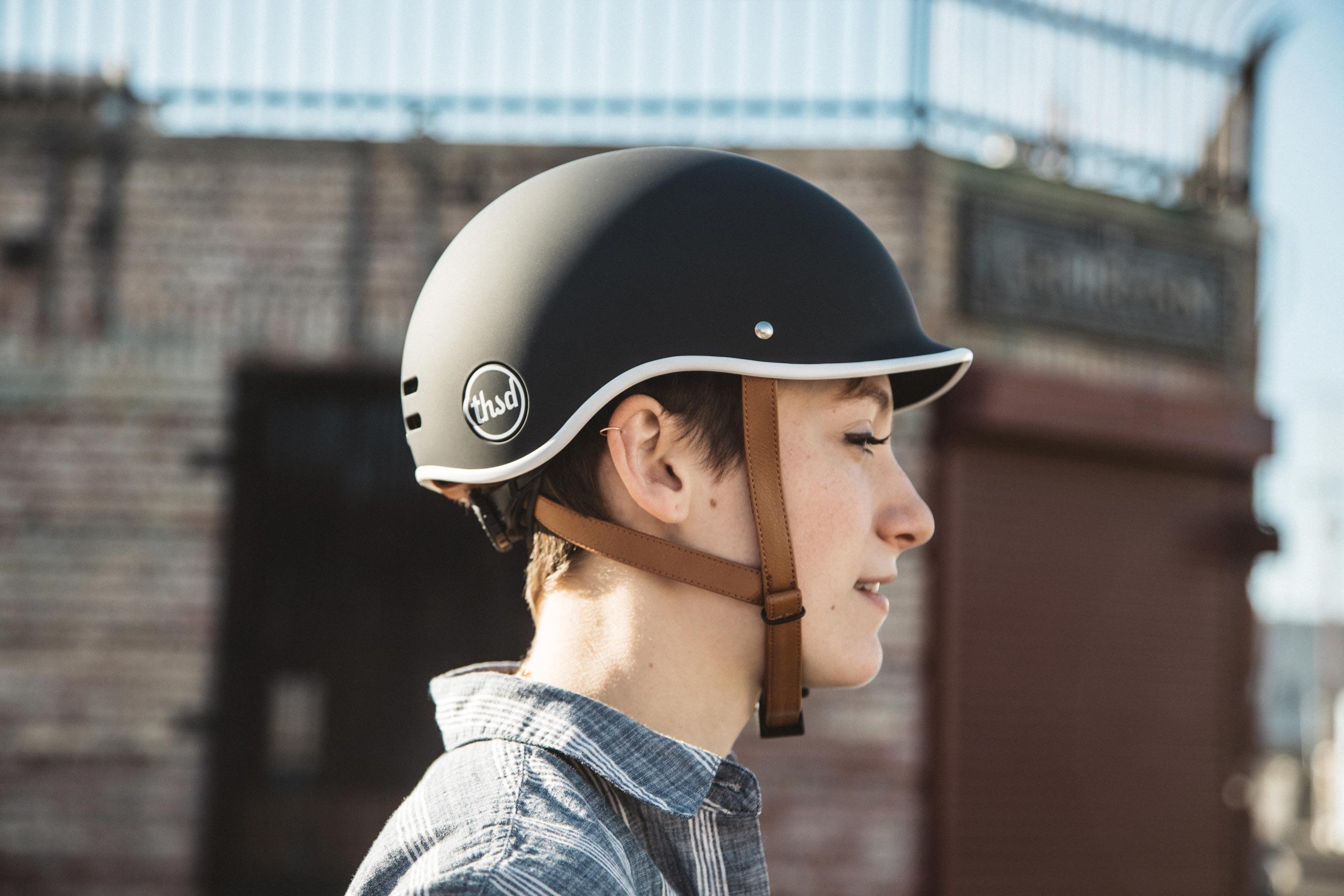 Heritage Bike Helmet, Carbon Black